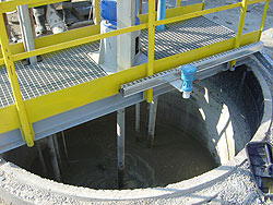 Recycling of concrete sludge